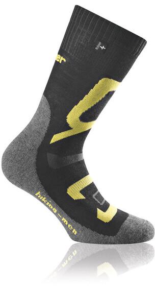 Rohner Hiking Sokken Heren geel/zwart